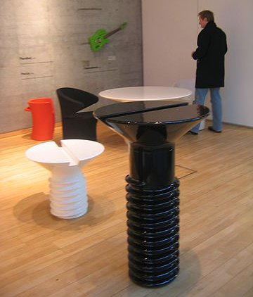 These Screw Tables are about to be moved by the developer man in the background.